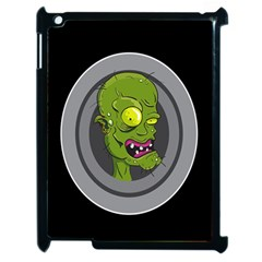 Zombie Pictured Illustration Apple Ipad 2 Case (black) by Sapixe