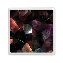Crystals Background Design Luxury Memory Card Reader (square)  by Sapixe