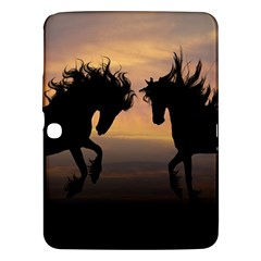 Horses Sunset Photoshop Graphics Samsung Galaxy Tab 3 (10 1 ) P5200 Hardshell Case