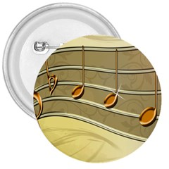 Music Staves Clef Background Image 3  Buttons by Sapixe