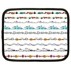 Decoration Element Style Pattern Netbook Case (xl)  by Sapixe