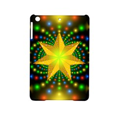 Christmas Star Fractal Symmetry Ipad Mini 2 Hardshell Cases by Sapixe