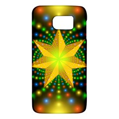 Christmas Star Fractal Symmetry Galaxy S6