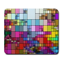 Color Abstract Visualization Large Mousepads