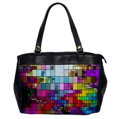 Color Abstract Visualization Office Handbags by Sapixe