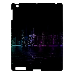 City Night Skyscrapers Apple Ipad 3/4 Hardshell Case