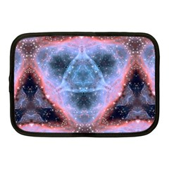 Sacred Geometry Mandelbrot Fractal Netbook Case (medium)