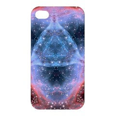 Sacred Geometry Mandelbrot Fractal Apple Iphone 4/4s Hardshell Case by Sapixe