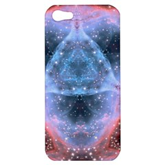 Sacred Geometry Mandelbrot Fractal Apple Iphone 5 Hardshell Case by Sapixe