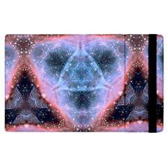 Sacred Geometry Mandelbrot Fractal Apple Ipad 3/4 Flip Case by Sapixe