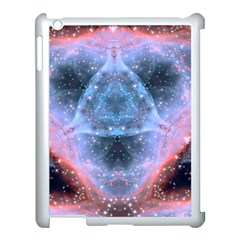Sacred Geometry Mandelbrot Fractal Apple Ipad 3/4 Case (white)