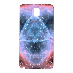 Sacred Geometry Mandelbrot Fractal Samsung Galaxy Note 3 N9005 Hardshell Back Case by Sapixe