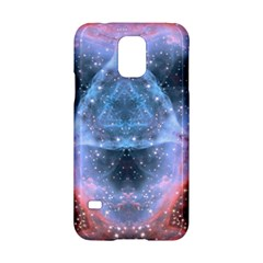 Sacred Geometry Mandelbrot Fractal Samsung Galaxy S5 Hardshell Case  by Sapixe