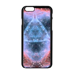 Sacred Geometry Mandelbrot Fractal Apple Iphone 6/6s Black Enamel Case by Sapixe