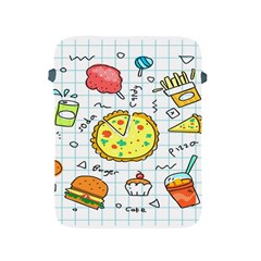 Colorful Doodle Soda Cartoon Set Apple Ipad 2/3/4 Protective Soft Cases by Sapixe