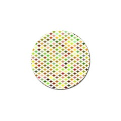 Background Multicolored Star Golf Ball Marker (4 Pack) by Sapixe