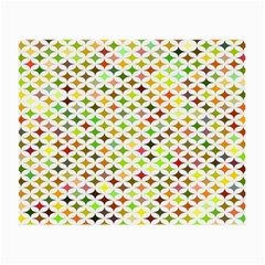 Background Multicolored Star Small Glasses Cloth (2 Side) by Sapixe