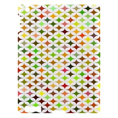 Background Multicolored Star Apple Ipad 3/4 Hardshell Case by Sapixe