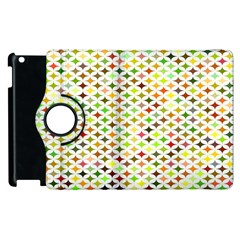 Background Multicolored Star Apple Ipad 3/4 Flip 360 Case by Sapixe