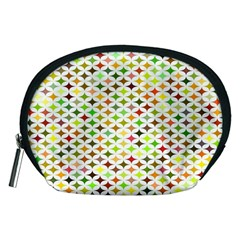 Background Multicolored Star Accessory Pouches (medium)