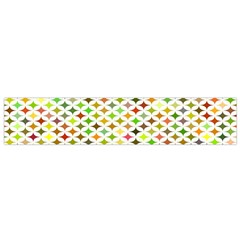 Background Multicolored Star Small Flano Scarf by Sapixe