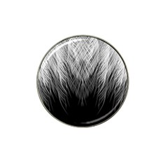 Feather Graphic Design Background Hat Clip Ball Marker (4 Pack) by Sapixe