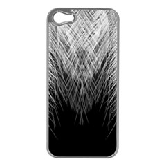 Feather Graphic Design Background Apple Iphone 5 Case (silver)