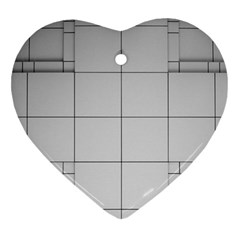 Abstract Architecture Contemporary Ornament (heart)