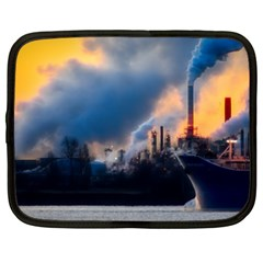 Warming Global Environment Nature Netbook Case (xxl)  by Sapixe