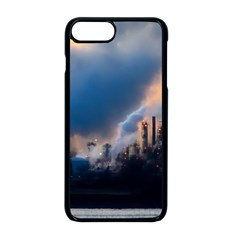 Warming Global Environment Nature Apple Iphone 8 Plus Seamless Case (black)