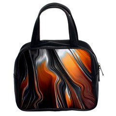 Fractal Structure Mathematics Classic Handbags (2 Sides) by Sapixe
