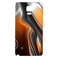 Fractal Structure Mathematics Galaxy Note 4 Back Case by Sapixe
