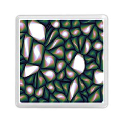 Fuzzy Abstract Art Urban Fragments Memory Card Reader (square)  by Sapixe
