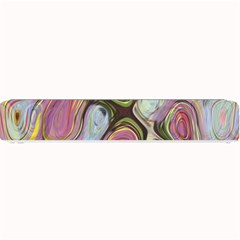 Retro Background Colorful Hippie Small Bar Mats by Sapixe