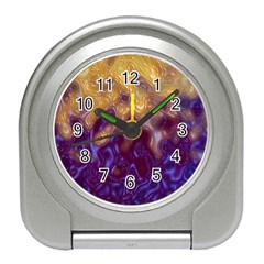 Fractal Rendering Background Travel Alarm Clocks