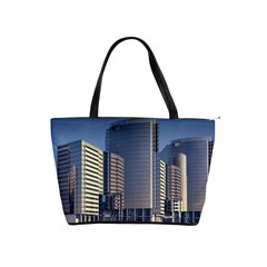 Skyscraper Skyscrapers Building Shoulder Handbags