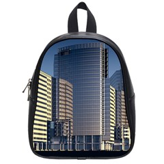 Skyscraper Skyscrapers Building School Bag (small) by Sapixe