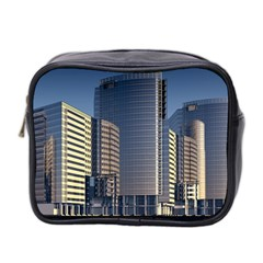 Skyscraper Skyscrapers Building Mini Toiletries Bag 2 Side by Sapixe