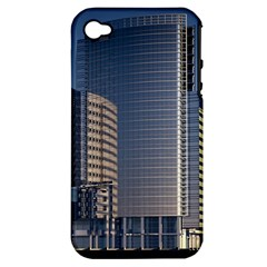 Skyscraper Skyscrapers Building Apple Iphone 4/4s Hardshell Case (pc+silicone) by Sapixe