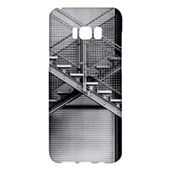 Architecture Stairs Steel Abstract Samsung Galaxy S8 Plus Hardshell Case