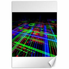 Electronics Board Computer Trace Canvas 20  X 30   by Sapixe