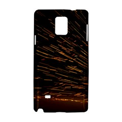 Metalworking Iron Radio Weld Metal Samsung Galaxy Note 4 Hardshell Case by Sapixe