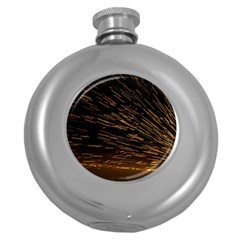 Metalworking Iron Radio Weld Metal Round Hip Flask (5 Oz) by Sapixe