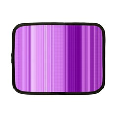 Background Texture Pattern Purple Netbook Case (small)