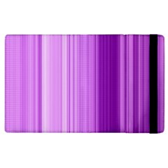 Background Texture Pattern Purple Apple Ipad 2 Flip Case by Sapixe