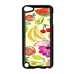 Seamless Pattern Desktop Decoration Apple Ipod Touch 5 Case (black)