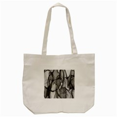 Abstract Black And White Background Tote Bag (cream)