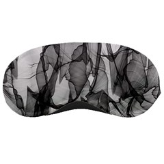 Abstract Black And White Background Sleeping Masks by Sapixe