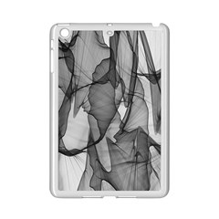 Abstract Black And White Background Ipad Mini 2 Enamel Coated Cases