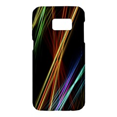 Lines Rays Background Light Samsung Galaxy S7 Hardshell Case